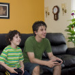 Stock Photo: Gaming Fun