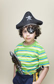 A Pirate Disguise — Stock Photo