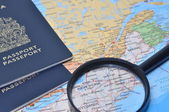 Finding your next travel country — Stock Photo