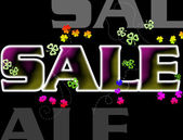 Sale Poster — Stock Photo