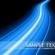 Blue flash fiber wave background — Stock Photo #6424531