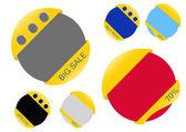 Färgglada design försäljning schack tårta — Stockfoto