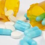 Generic prescription medicine — Stock Photo