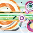 Abstract colorful vector background - 图库照片