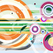 Abstract colorful vector background — Stock Photo