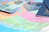 Prepare to business travel — Stock Photo