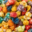 Stock Photo: Caramel colorful popcorn
