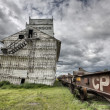 Prairie Grain Elevator — Stock Photo