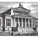 Постер, плакат: Konzerthaus Berlin or Schauspielhaus Berlin concert hall Berli