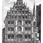 The Gewandhaus of Brunswick, or Braunschweig, Lower Saxony, Germ — Stock Vector #6719676