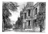 University of Bonn, Bonn, Germany vintage engraving. — Stock Vector