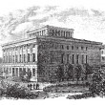 University of Halle-Wittenberg vintage engraving — Stock Vector #6747424