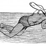 Thrusting, vintage engraved illustration — Stock Vector #6754978