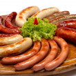 Royalty-Free Stock Photo: Grilled sausages