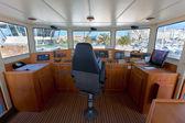 Boat cockpit — Stock Photo