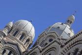 Marsilya da la büyük katedral detay — Stok fotoğraf
