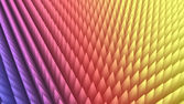 3d rendering of abstract colorful pyramid array — Stock Photo