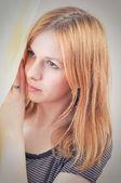 портрет красоты — Стоковое фото