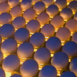 Royalty-Free Stock Photo: Egg Factory - Quality Control by candling