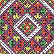 Cтоковый вектор: Ukrainiethnic seamless ornament, #39, vector