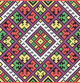 Ukrainian ethnic seamless ornament, #39, vector — ストックベクタ