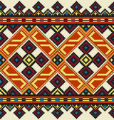 Ukrainian ethnic seamless ornament, #40, vector — Stok Vektör