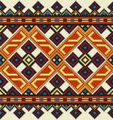 Ukrainian ethnic seamless ornament, #40, vector — Vector de stock