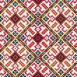 Cтоковый вектор: Ukrainiethnic seamless ornament, #46, vector