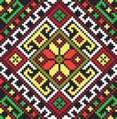 Ukrainian ethnic seamless ornament, #45, vector — Vector de stock
