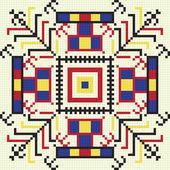 Ukrainian ethnic seamless ornament, #61, vector — Vector de stock
