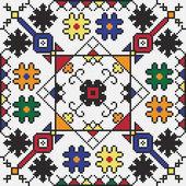 Ukrainian ethnic seamless ornament, #59, vector — Stock Vector