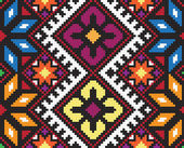 Ukrainian ethnic seamless ornament, #58, vector — Stock vektor