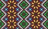 Ukrainian ethnic seamless ornament, #56, vector — ストックベクタ