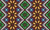 Ukrainian ethnic seamless ornament, #56, vector — Vector de stock