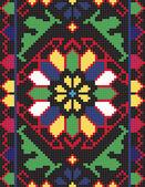 Ukrainian ethnic seamless ornament, #66, vector — Stock Vector
