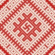 Stock vektor: Ethnic slavic seamless pattern#8