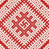 этнических славянских бесшовный фон #8 — Cтоковый вектор