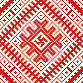 Ethnic slavic seamless pattern#8 — Vector de stock