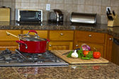 Kitchen Stove Top — Stock Photo