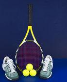 Tenis malzeme — Stok fotoğraf