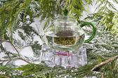 Natural Green Tea — Stock Photo