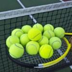 Tennis Ball Collection — Stock Photo