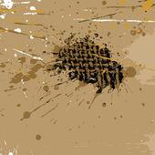 Abstrakte grunge-hintergrund — Stockvektor
