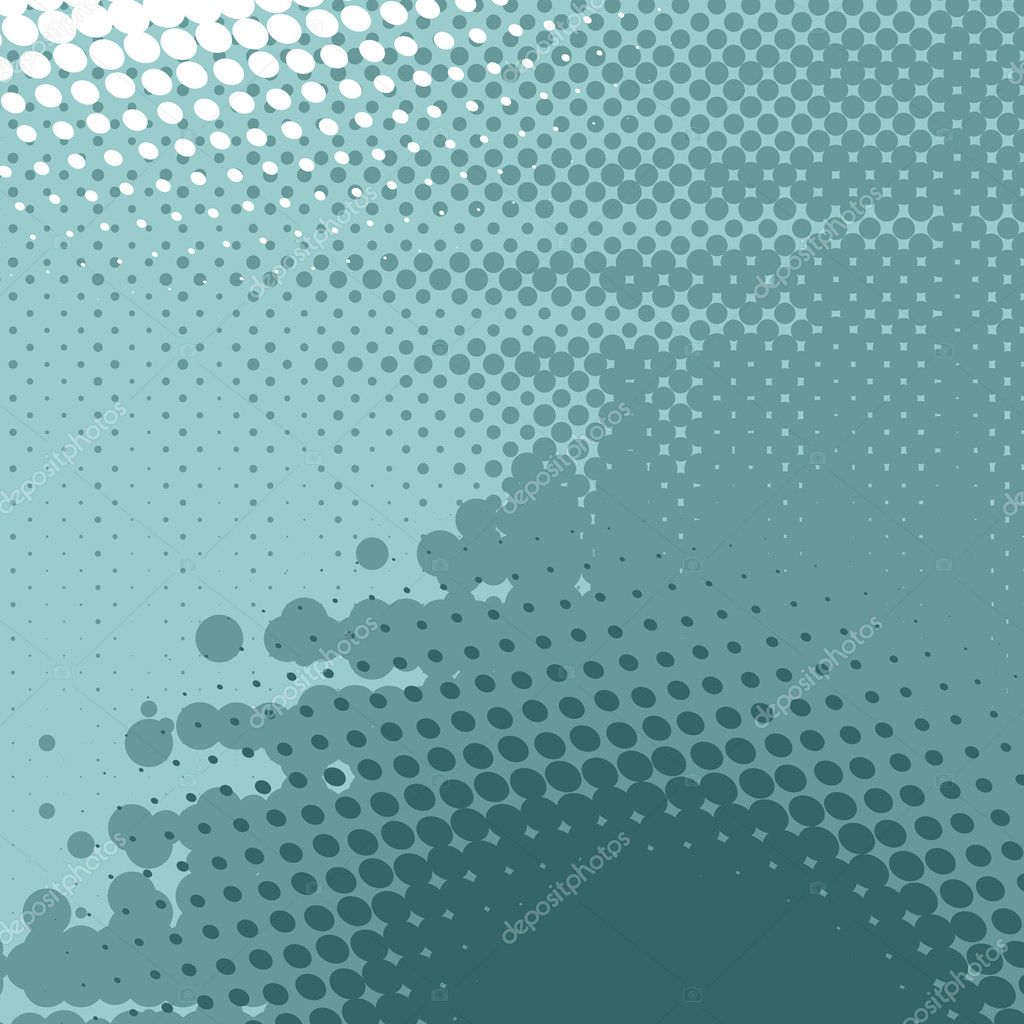 Abstract  background, vector halftone effect, illusion of the gradient, place for text  Grafika wektorowa #5384840