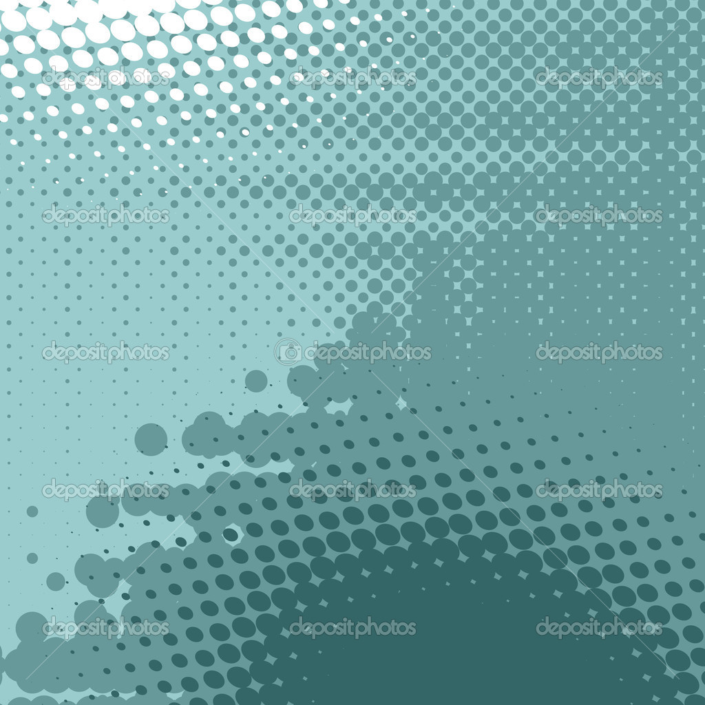 Abstract  background, vector halftone effect, illusion of the gradient, place for text — Векторная иллюстрация #5384840