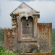 Part of reconstructed old church in Armenia — Stock Photo
