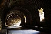 内部的中世纪城堡 — 图库照片