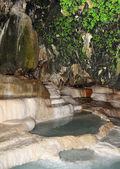 Water in ancient cave — Stock Photo