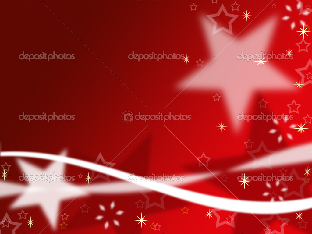 Christmas background with stars  — Stock Photo #6616206