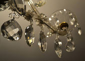 Chrystal chandelier — Stock Photo